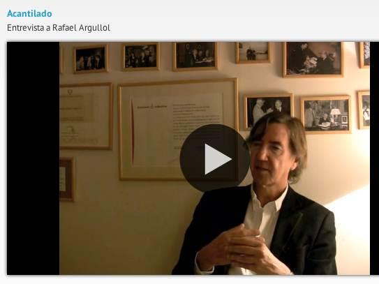 entrevista Argullol acantilado