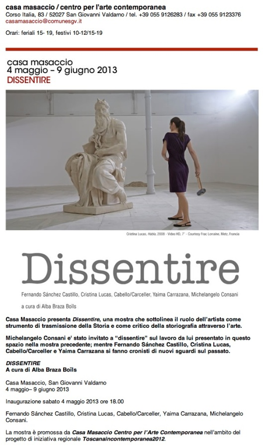 Casa masaccio - Dissentire