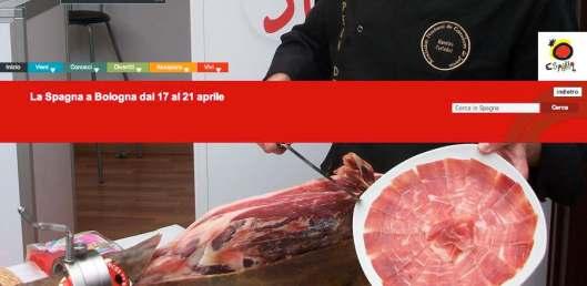 España a Bologna header