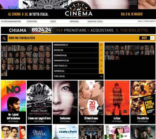 Festa del cinema Milan