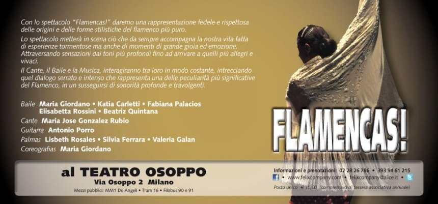 flamencas teatro osoppo