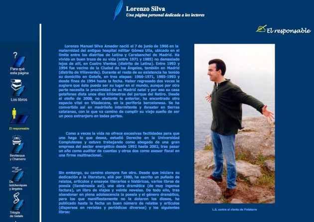 Lorenzo Silva blog