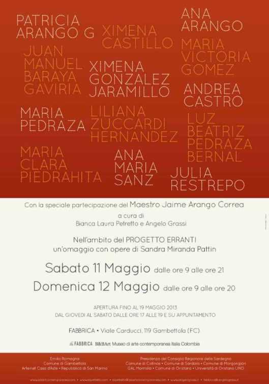 manifesto 70x100 MOSTRA COLLETTIVA