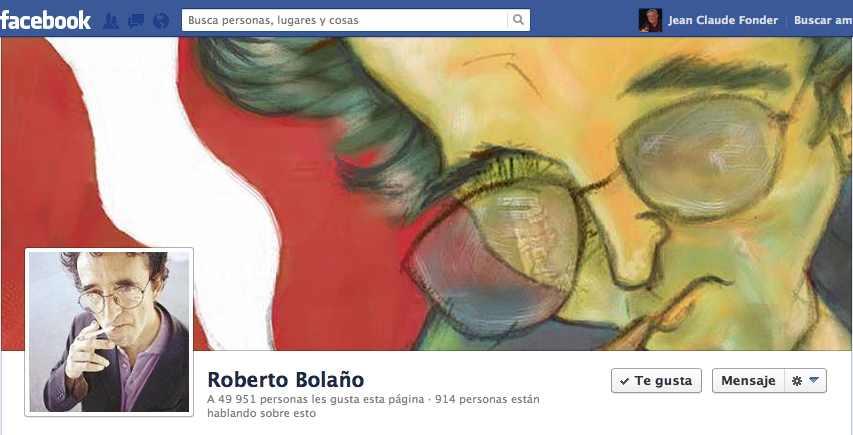 Roberto Bolaño portada FB 2