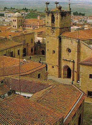 Cáceres Plaza de Santa María