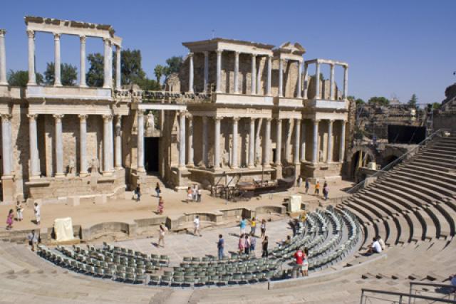 Baños Romanos Merida:Viajes a Extremadura
