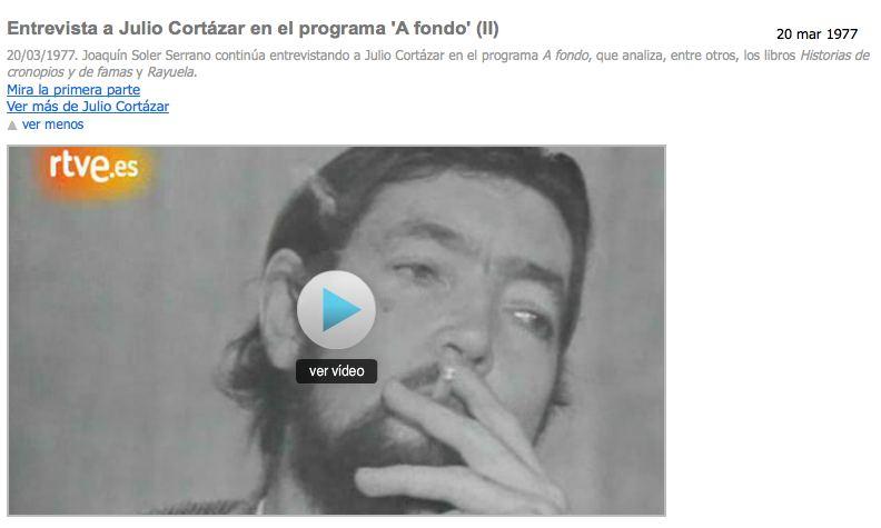 A Fondo Cortázar (II)