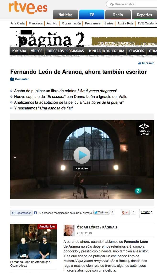 Pagina 2 Fernando León de Aranoa