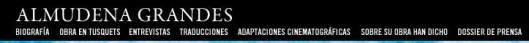 :www.almudenagrandes.com