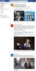 Noticias de Facebook en iPad