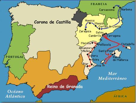 mapa_corona_de_aragon_jaime_i