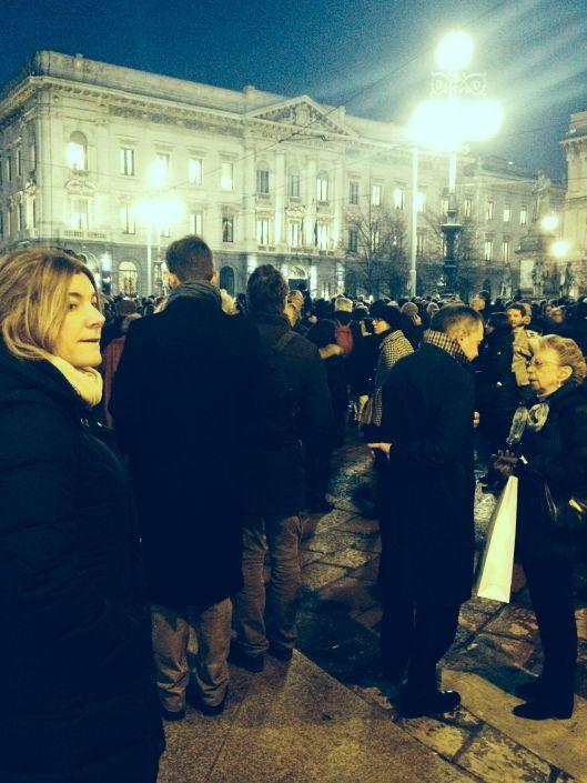 Piazza della Scala 27:1:2014 Abbado