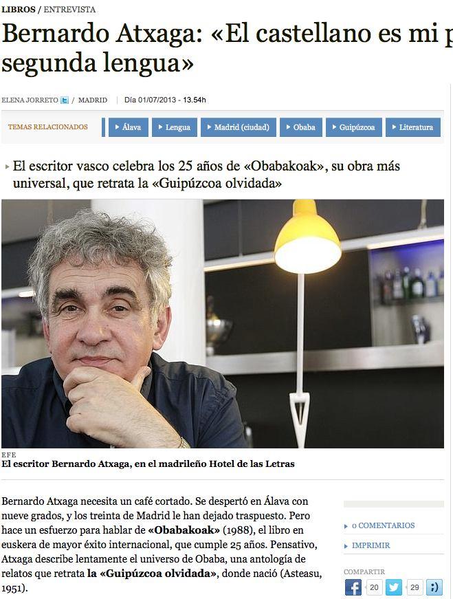 Bernardo Atxaga - Abc