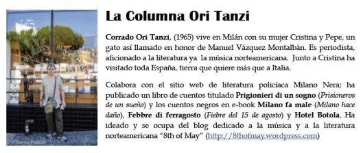 Ori Tanzi cabecera