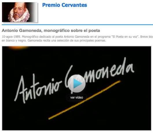 Antonio Gamoneda, monográfico sobre el poeta