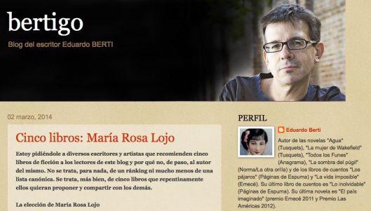 Blog de Eduardo Berti