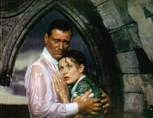 John Wayne y Maureen O'Hara