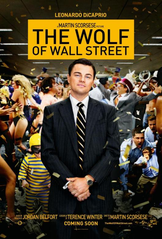 The Wolf of Wall Street  de Martin Scorsese