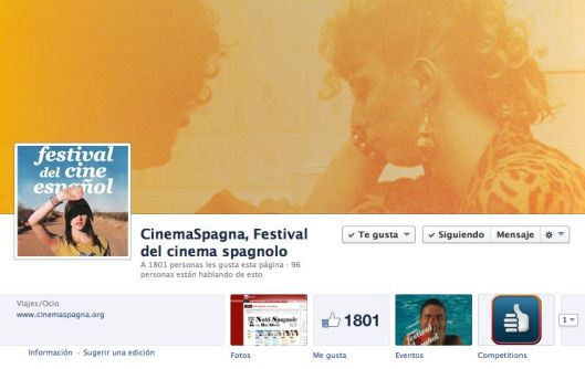 Facebook festival cine español