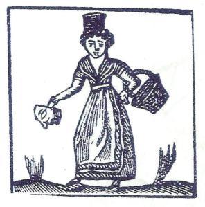 dona amb la cistella