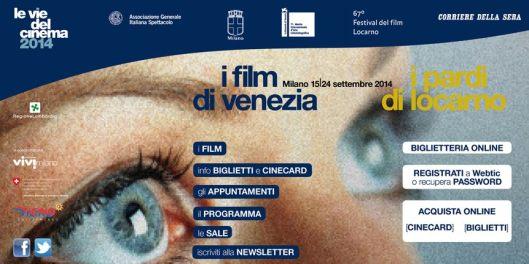 Le Vie del Cinema 2014