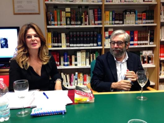 Antonio Muñoz Molina entrevistado por Valeria Correa Fiz en el Club de Lectura del 15/10/2014