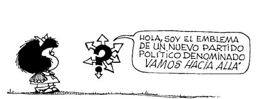 Mafalda emblema politico