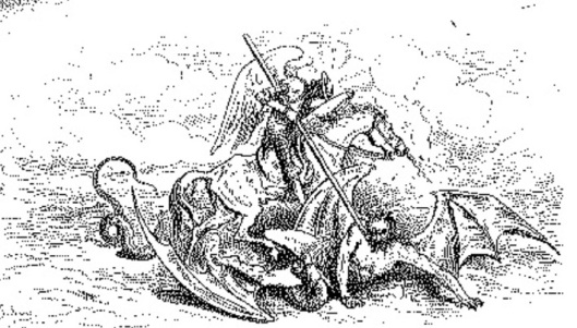 Don Quijote derrotando a un diablo II.6