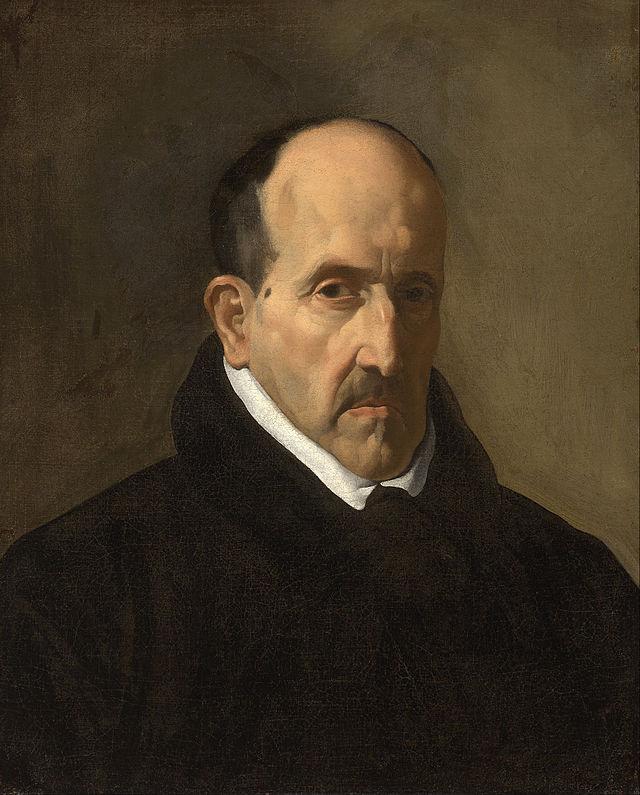 Luis de Góngora retratado por Velázquez
