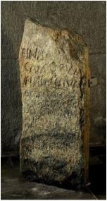estela bilingüe de Vercelli 2
