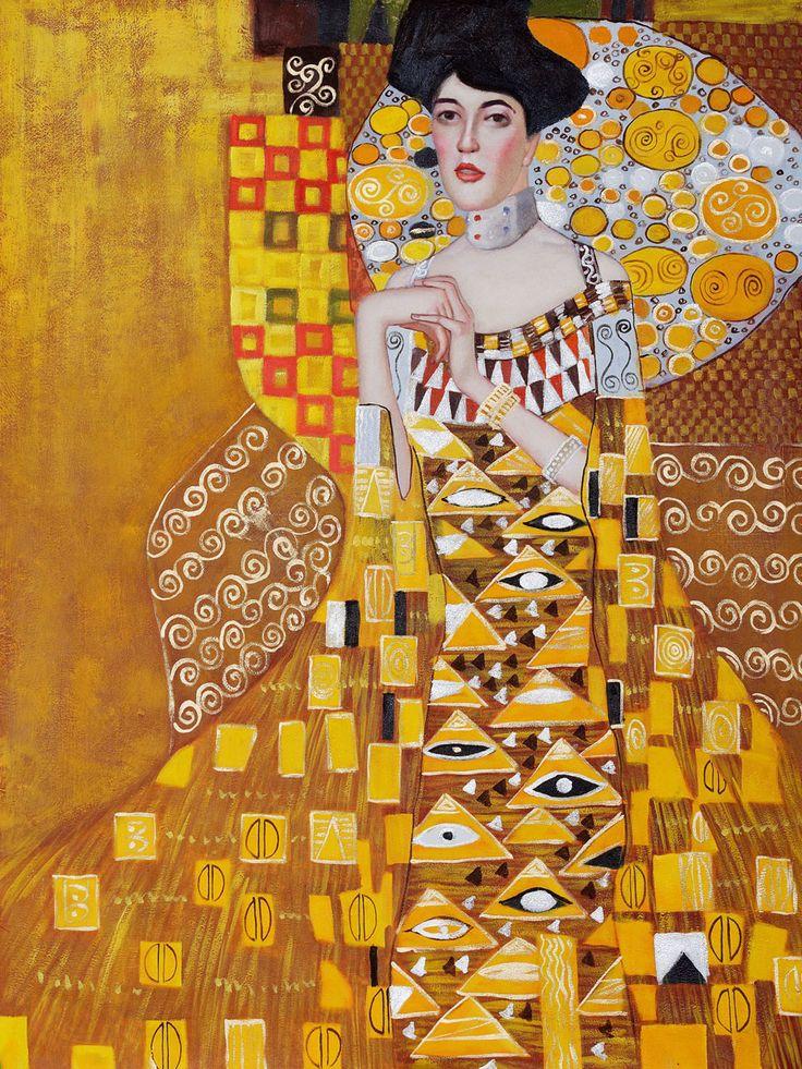 Portrait of Adele Bloch-Bauer 1, 1907 – Gustav Klimt