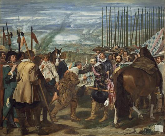Diego Velázquez - las Lanzas o la rendición de Breda ( Madrid, Museo del Prado )