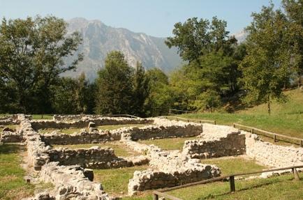Monte Barro - vestigios del siglo VI d.C.