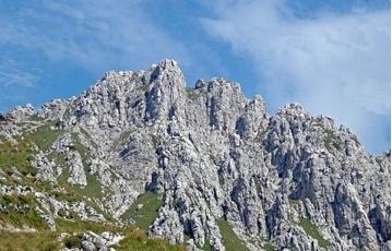 Parque Natural de la Grigna Settentrionale Cumbre de la Grignetta