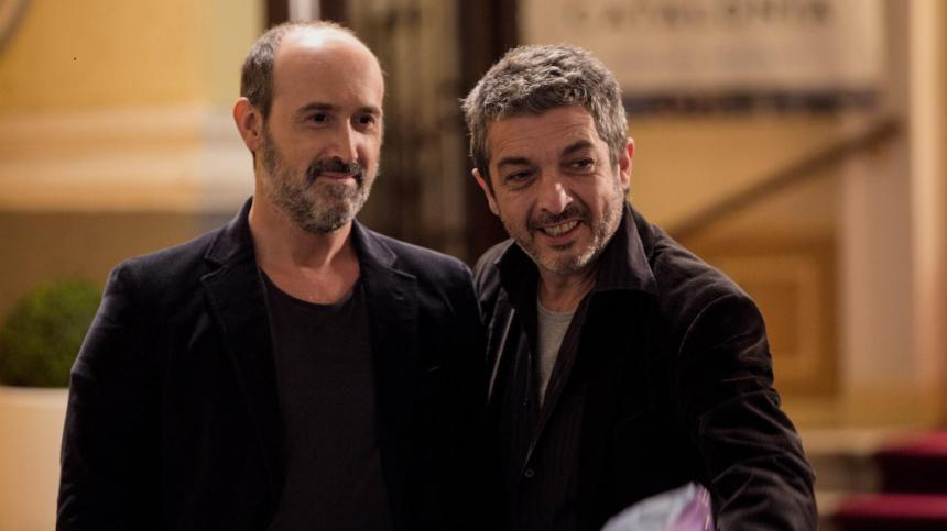 Javier Cámara y Ricardo Darin