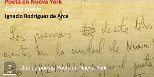 Club de Poesia Lorca