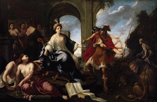 Circe y Odiseo Pier Francesco Cittadini (1616-1681)
