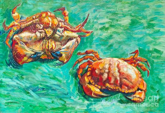 two-crabs-by-vincent-van-gogh-roberto-morgenthaler