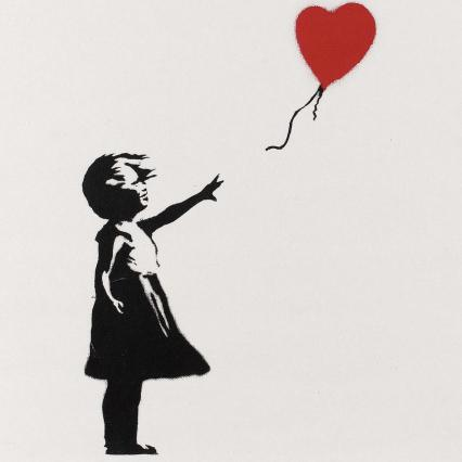 Girl with red balloon (2004)